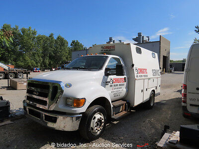 2011 Ford F650 Service/Mechanics Truck with Knapheide Bed Cummins Tier 4 Engine