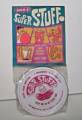 RARE 1967 Wham-O Super Stuff SEALED Hard to Find RARE Cool Item NOS SEALED