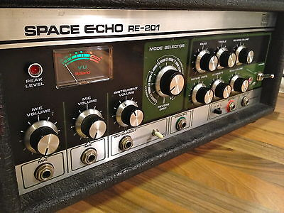 Roland Space Echo RE-201 vintage delay and reverb