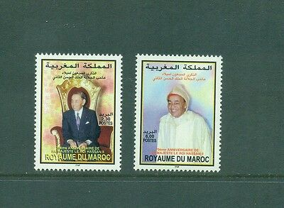 Morocco 1999 King hassan II 70th Birthday MNH