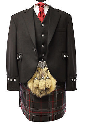 New Spirit Of Bruce Modern 8 Yd Full Highland Dress Kilt Package £599 Sale Now