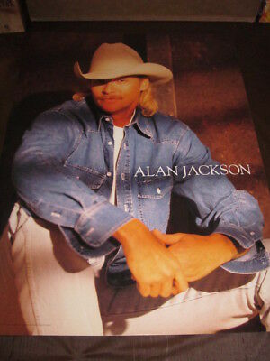 "Alan Jackson  18 x 24""  In-Store Promo Poster"
