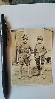 Original Wwii Japanese Photo: Army Soldiers, War Swords, China War!!