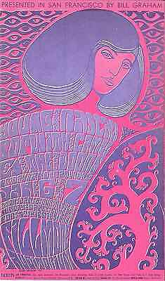 THE DOORS First SF Concert  BG 44  Fillmore Concert Handbill 1967 Young Rascals