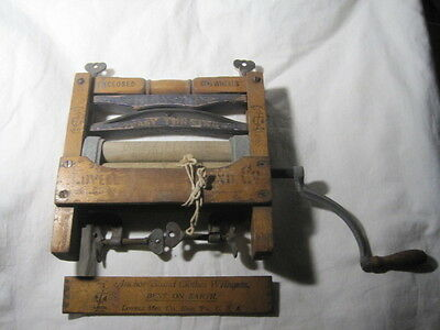 Antique Anchor Clothes Wringer Bicycle Bearing Advertising miniature Laundry