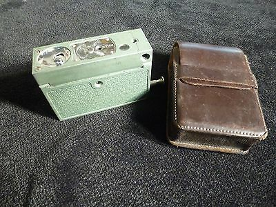 Vintage Micro 16 Subminiture Spy Camera with Case Untested