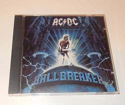 AC/DC  Ballbreaker  CD 1995 East/West Records 11 Tracks  FAST SHIP