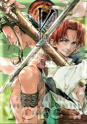 One Piece YAOI Doujinshi Comic Benn Beckman x Shanks Voice
