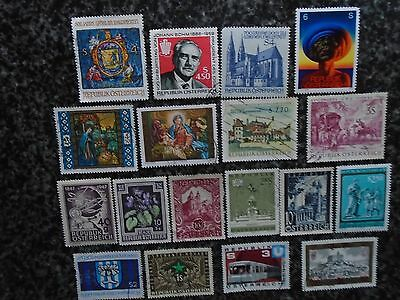 Collection/mixture Of Austria Stamps