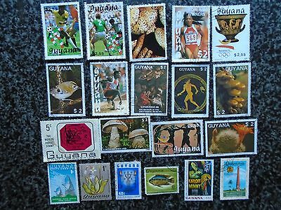 Collection/mixture Of Guyana Stamps