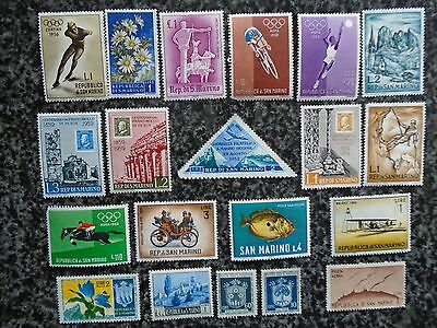 Collection/mixture Of San Marino Stamps