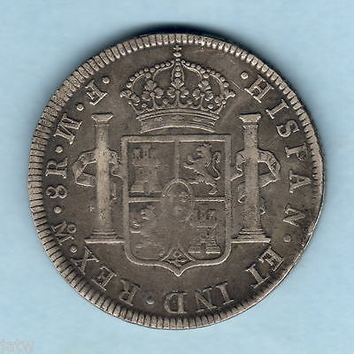 Mexico. 1772-MoFM  8 Reales..  Inverted FM..  aVF