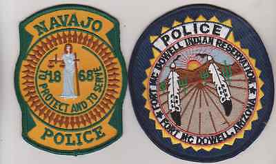 Navajo  & Fort McDowell AZ Tribal Police patches