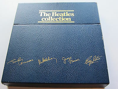 THE BEATLES  COLLECTION  13  LPs  BLUE BOX  1987  LAST PRESS  BARCODED SLEEVES