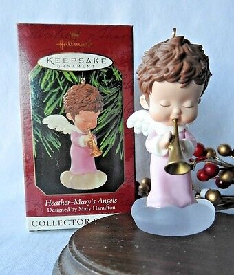 Hallmark Ornament 1999 Heather  Mary's Angels #12 in the Series