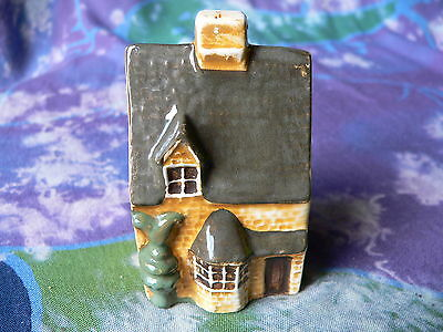 Mudlen End Miniature West Country Weaver's Cottage With Topiary Bush 30E