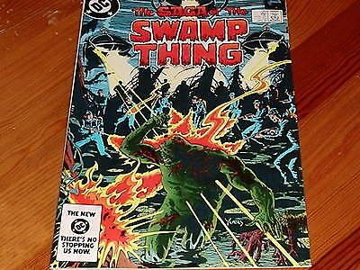 Swamp Thing #  20 1st Alan Moore