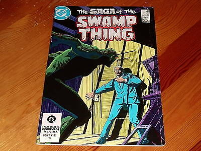 Swamp Thing #  21 Alan Moore