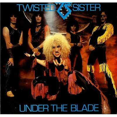 TWISTED SISTER Under The Blade 1982 UK Vinyl LP EXCELLENT CONDITION