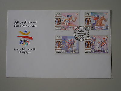 Bahrain FDC - Olympische Sommerspiele Barcelona