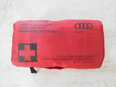 Audi - First Aid Kit - DIN 13164 (exp 09-2018)