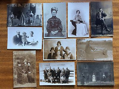 Collection of Vintage Postcards: People