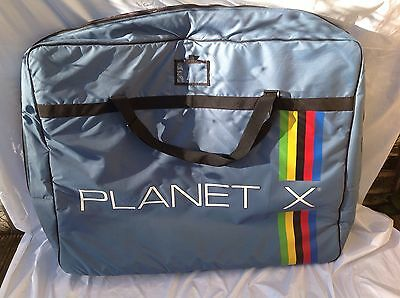 Planet X Blue Bicycle Travel Bag - L'eroica - Used Good Condition
