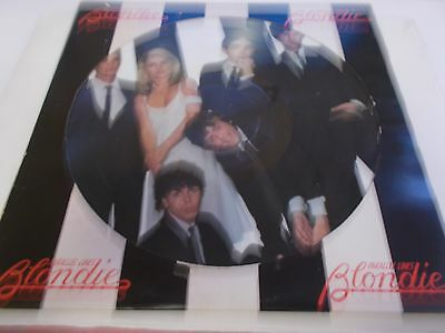 Blondie Picture Disc Parallel Lines 1978 Usa Pressing