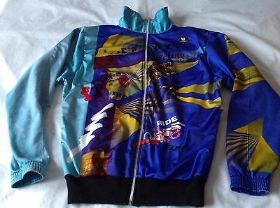 WINTER CYCLING JERSEY VERMARC LONG SLEEVE RETRO 80s/90s - SIZE L/XL?