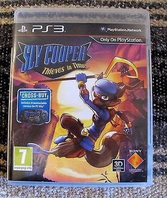 PS3 SLY COOPER Thieves In Time PlayStation 3