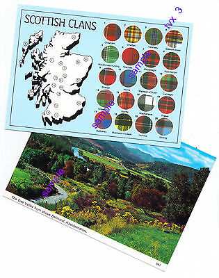 Scotland X 4 POSTCARDS ALL NOT POSTED=PLEASE SEE BELOW=THANK YOU