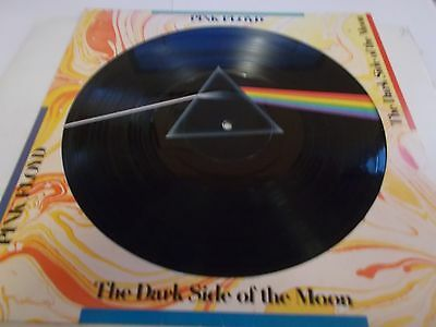 Pink Floyd Picture Disc Dark Side Of The Moon 1978 Capitol Records