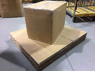 10 x Large Double Walled Strong Cardboard Boxes Storage Packing House Moving