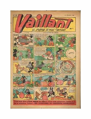 Vaillant   N°    145   19/02/1948   Be-/be