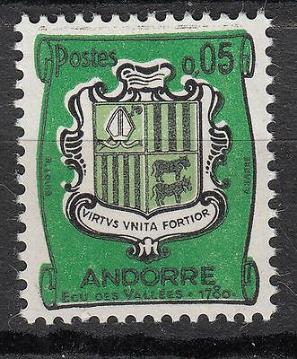 Timbre Andorre France Neuf  N° 154 **  Armoirie
