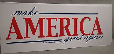 WHOLESALE LOT OF 20 TRUMP MAGA MAKE AMERICA GREAT AGAIN STICKERS President 45th