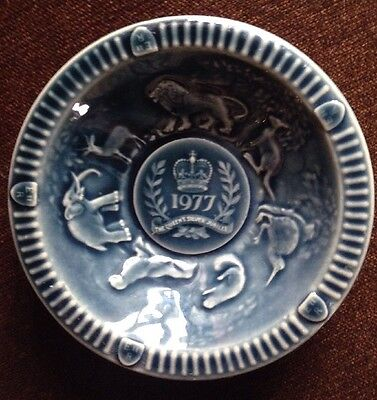 Wade England 1977 The Queens Silver Jubilee Dish
