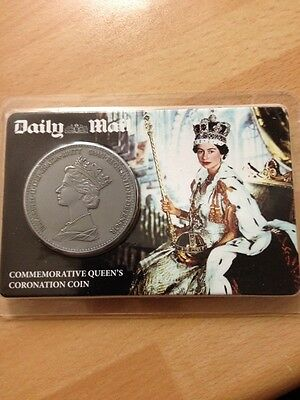 Daily Mail Commemorative Queens Coronation Coin