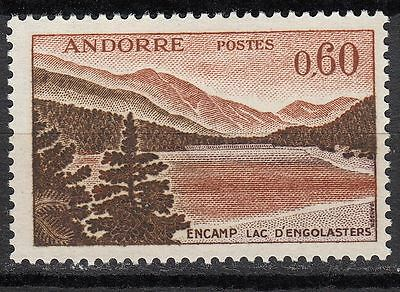 Timbre Andorre France Neuf  N° 161 A *  Lac D Engolasters A Encamp
