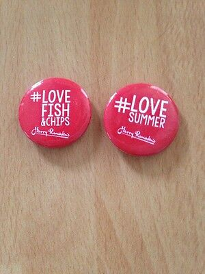 Harry Ramsden Fish And Chip Badges