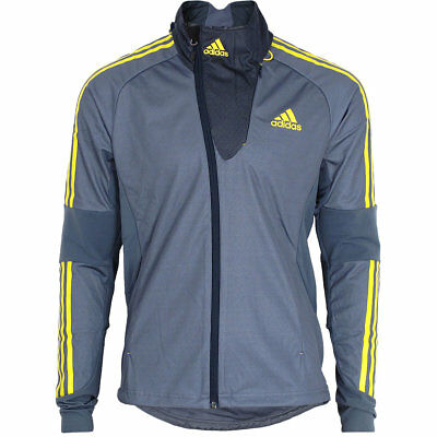 adidas Herren Athleten Jacke Outdoor DSV Langlauf Biathlon Running Wintersport
