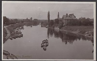 River Wye,  Hereford   -  Posted 1910   (4564)