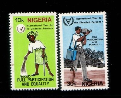 NIGERIA International Year of the Disabled MNH set