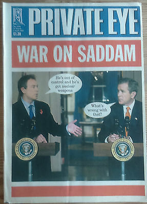PRIVATE EYE Magazine Issue  1050  -  APRIL 2002