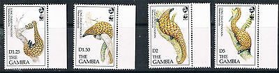 Gambia 1993 Endangered Species SG 1495/8 MNH