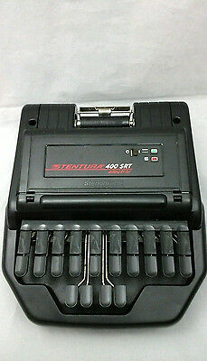 Stentura 400 SRT Electric Stenograph With Accessories Carrying Case