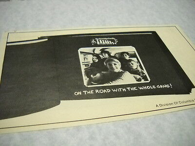 PARTRIDGE FAMILY are on the road 1970 music biz promo trade advert MINT COND.