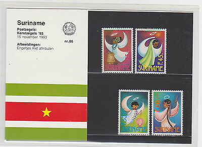 A66 Suriname 1993 Nr.86 Angels Mnh $5.90