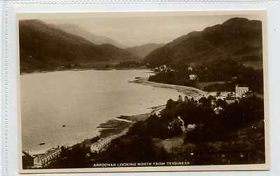 (Lb8183-447b) Real Photo, ARROCHAR Looking North from Teighness,  c1940 Unused