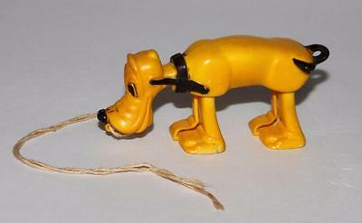 """EX DISNEY 1950's """"PLUTO"""" RAMP WALKER"""" BY MARX+AUTHENTICITY IMPRINT+PULL STRING!"""